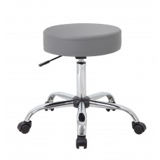 Grey Caressoft Medical Stool