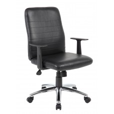 Retro Task Chair with Black T-Arms