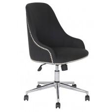 Carnegie Desk Chair - Black