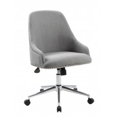 Carnegie Desk Chair - Grey