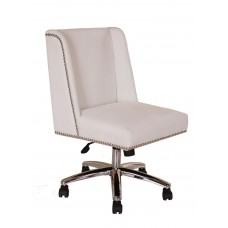 Decorative Task Chair - White
