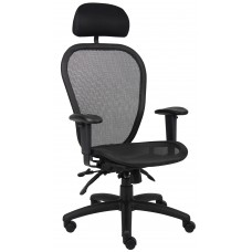 Multi Function Mesh Chair W/ Headrest