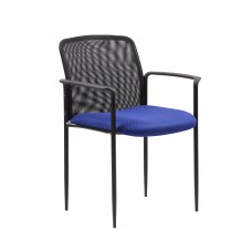 Stackable Mesh Guest Chair - Blue
