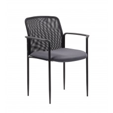 Stackable Mesh Guest Chair - Grey
