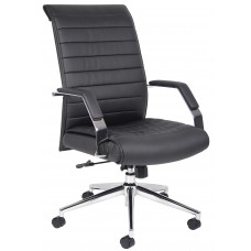 Executive High Back Ribbed Chair