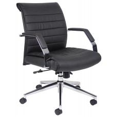 Executive Mid Back Ribbed Chair