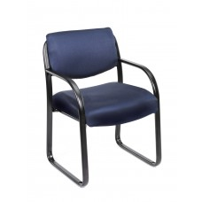 Blue Fabric Guest Chair