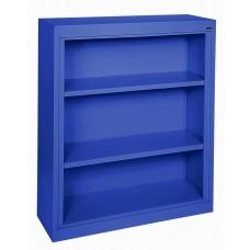"Sandusky® Elite 42""H x 36""W x 18""D Steel Fully Adjustable Bookcase, Blue"
