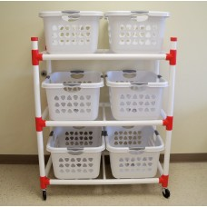 Basket Master Cart (6 large baskets)