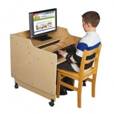 Contender™ Mobile Computer Desk - RTA