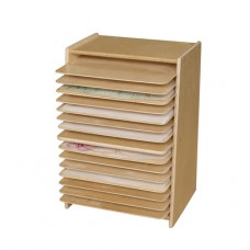 Contender™ Mobile Drying and Storage Rack- Assembled
