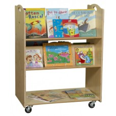 Contender™ Mobile Library Cart- Assembled
