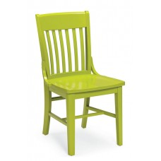 Americana Armless Chair- All Wood - Painted