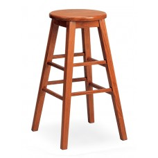"""Bison 30"""" Stool - All Wood - Painted"""