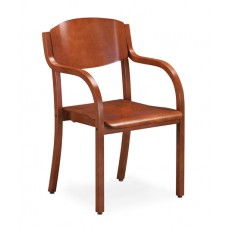 Sterling Arm Chair - All Wood - Painted