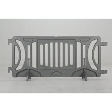 Plastic barricade - Silver