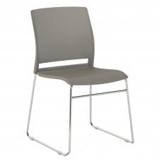 Bush Business Furniture Corporate Stackable Chairs Set of 2