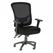 Bush Business Furniture Custom Comfort High Back Multifunction Mesh Executive Office Chair