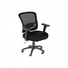 Bush Business Furniture Custom Comfort Mid Back Mesh Executive Office Chair