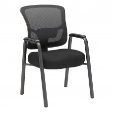 Bush Business Furniture Custom Comfort Mesh Back Guest Chair