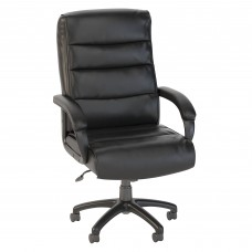 Bush Business Furniture Soft Sense High Back Leather Executive Office Chair
