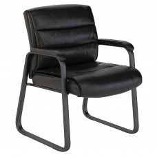 Bush Business Furniture Soft Sense Leather Guest Chair