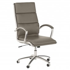 Bush Business Furniture Modelo High Back Leather Executive Office Chair