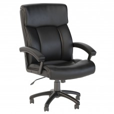 Bush Business Furniture Stanton Plus High Back Leather Executive Office Chair