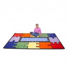 ABC Rainbow Puzzle - Rectangular Small