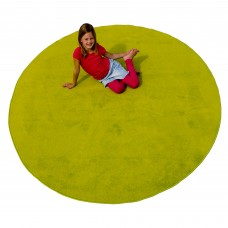 Green Solid - Round Small