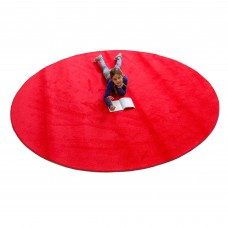 Red Solid - Round Small
