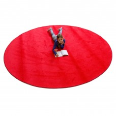 Red Solid - Round Large