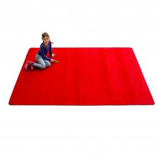 Red Solid - Rectangular Small