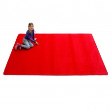 Red Solid - Rectangular Large