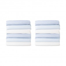 CozyFit™ Cot Sheets - Fits all major brands of cots, Standard Size. - Blue - N/A
