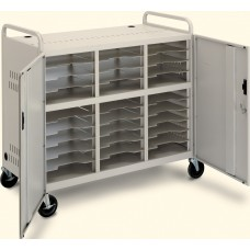 Ct-Ls30 Laptop Storage Cart W/Powr Strps