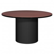 "48"" Round Conference Table - Black"
