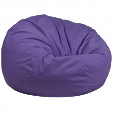Oversized Solid Purple Bean Bag Chair [DG-BEAN-LARGE-SOLID-PUR-GG]
