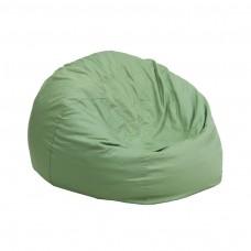 Small Solid Green Kids Bean Bag Chair [DG-BEAN-SMALL-SOLID-GRN-GG]