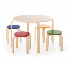 Nordic Table and Chairs Set - Color