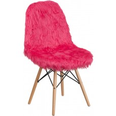 Shaggy Dog Hot Pink Accent Chair [DL-1-GG]