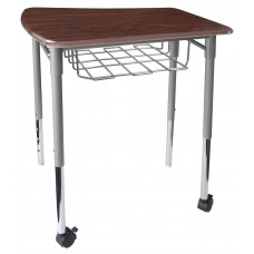 Cs Neomove Collaboration Desk With Casters - 25X26X27 Hard Plastic Top