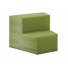 Inside Facing 2-Tiered Wedge Seat - Grade 4 Upholstery - Specify Upholstery Color