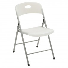 Chair Folding 400 Lb Clear - Case Of 4