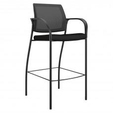 Stool - Cafe - 4-Leg - W/Arms - Bk
