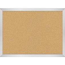 Vt Logic Cork Board - Aluminum Trim - 1.5 X 2