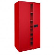 """Sandusky® Elite 78"""" x 46"""" x 24"""" Keyless Electronic Welded Storage Cabinet, Putty"""