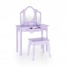 Vanity and Stool - Lavender