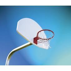 Goal Basketball H.D. Bent Post Aluminum 4.5''