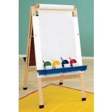 Kit Easel Adjustable Art Dry Erase With Paper Roll And Holder